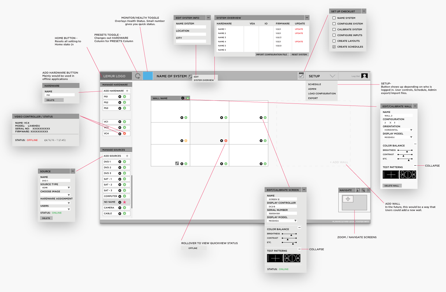 incubate-leyard-planar-wall-director-web-application-wireframe
